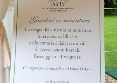 Exhibition at the SIAF Tulip Festival in Torino, Italy – 2014