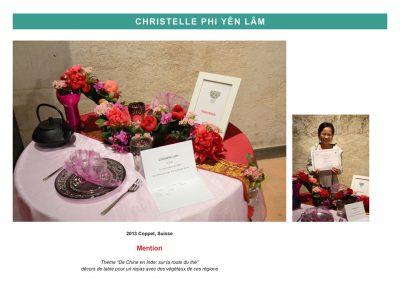 Christelle Phi Yên LÂM - FleursDeStyle - 2013 Coppet, Suisse