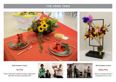 The Hong Tang Lam - FleursDeSytle - Premier Prix à Colomars 2016