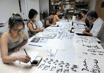 Calligraphy Workshop 2017