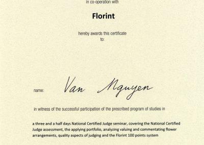 Vân NGUYÊN - FleursDeStyle- Florint
