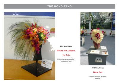 The Hong Tang Lam - FleursDeSytle - Premier Prix à Nice 2018
